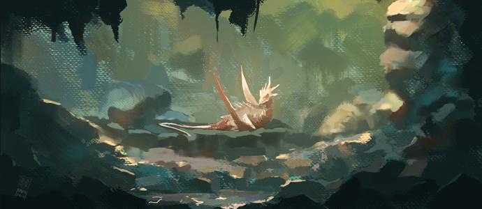 Dragon Lair by Raph04art
