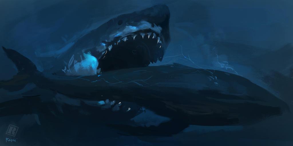 Megalodon by Raph04art on DeviantArt