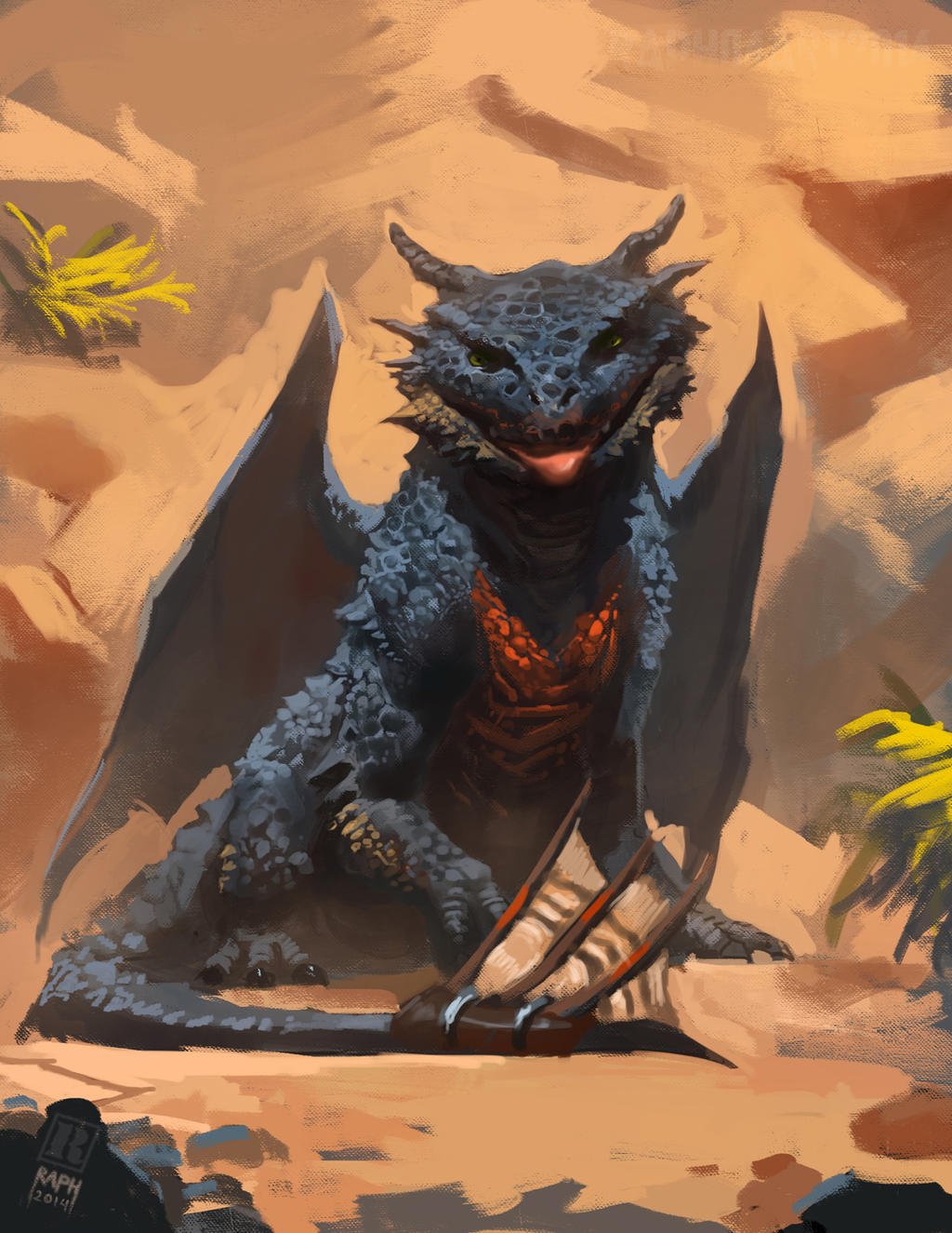Toothless by Raph04art on DeviantArt - photo#33