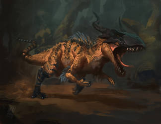 Digimon - Greymon by RAPHTOR