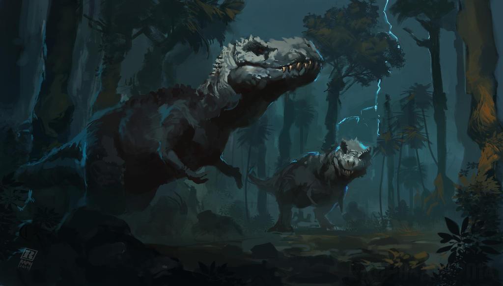Dinosaur Kings by Raph04art