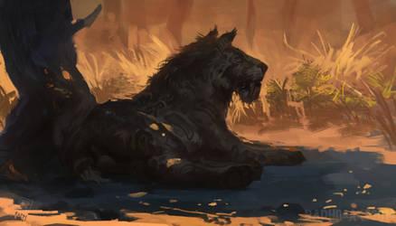 Smilodon fatalis by RAPHTOR