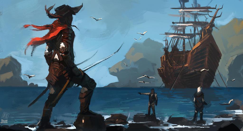 Buccaneer by Raph04art