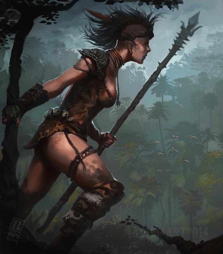 Huntress by Raph04art