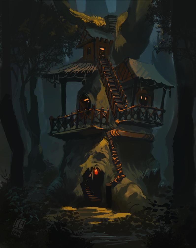 Treehouse by Raph04art