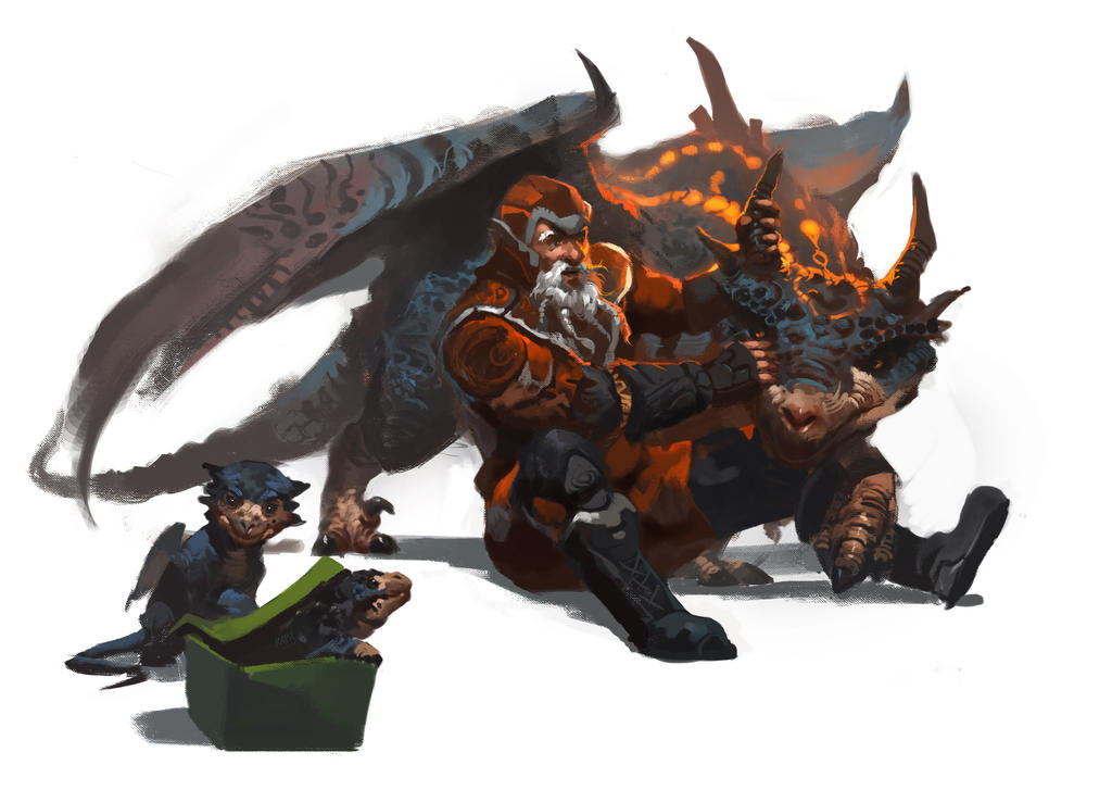 Santa - Dragon Trainer by Raph04art