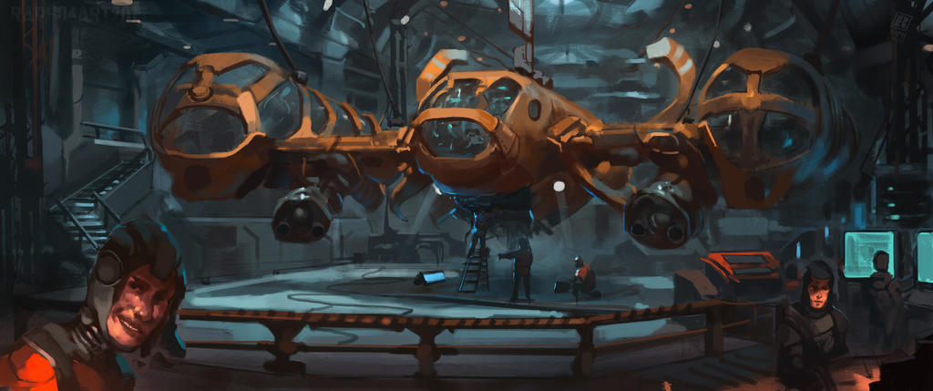 A02 Bomber by Raph04art