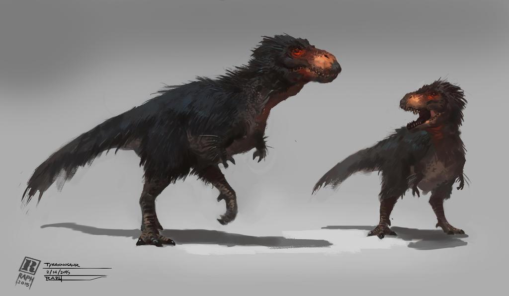 Tyrannosaurus Rex by Raph04art