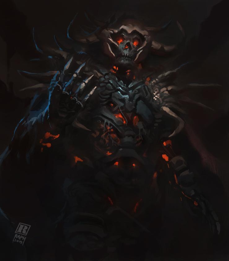 Skeleton Lord by Raph04art