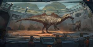 Mesozoic Land : Ichthyovenator