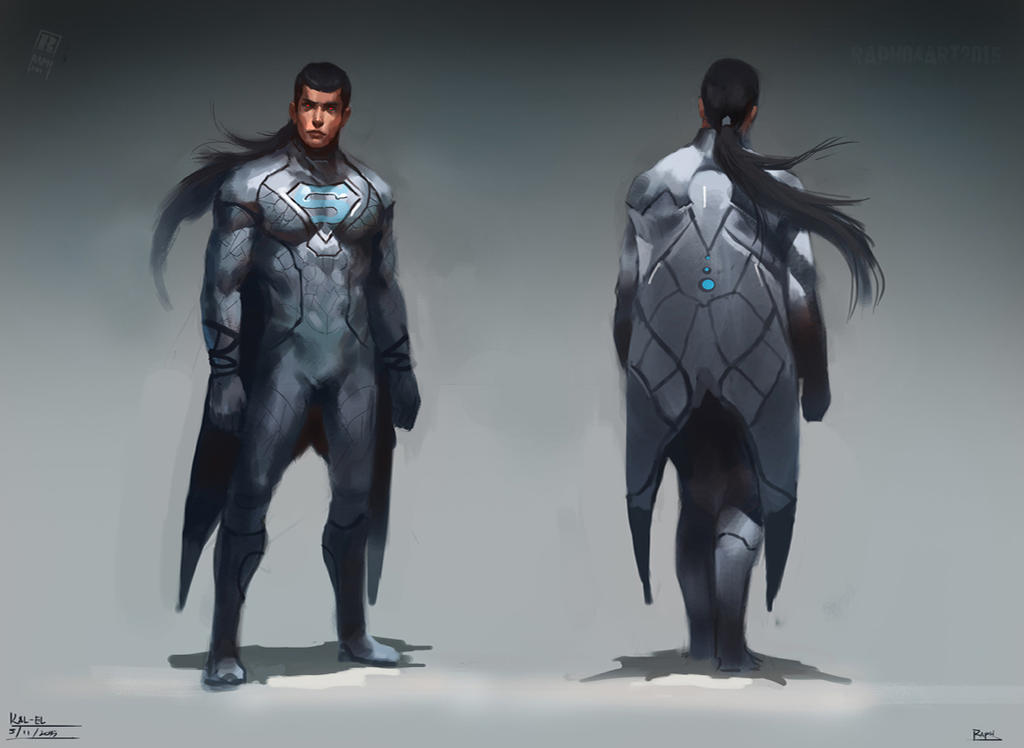 Kal El redesign by Raph04art