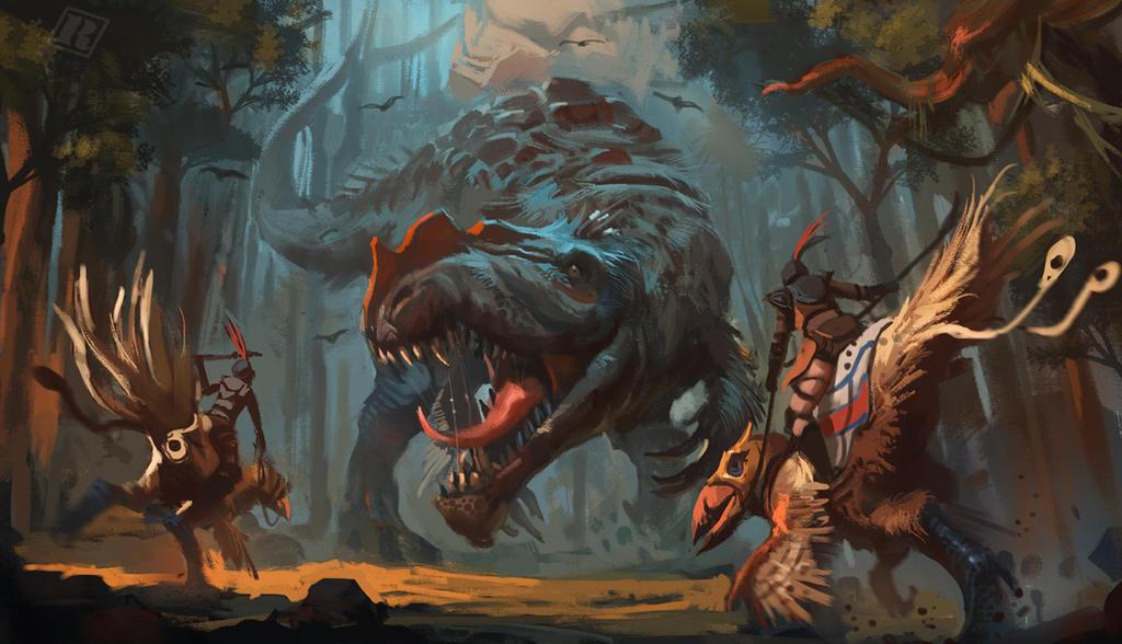 Ravager Ambush by Raph04art