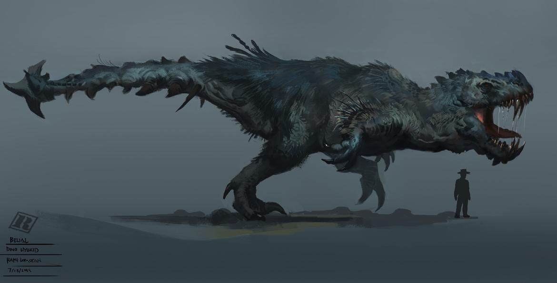 Dino Hybrid - Belial by Raph04art