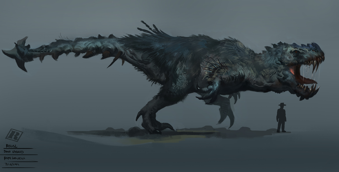 Dino Hybrid - Belial by RAPHTOR on DeviantArt