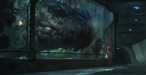 Dino Hybrid  pt 2 - Belial by RAPHTOR