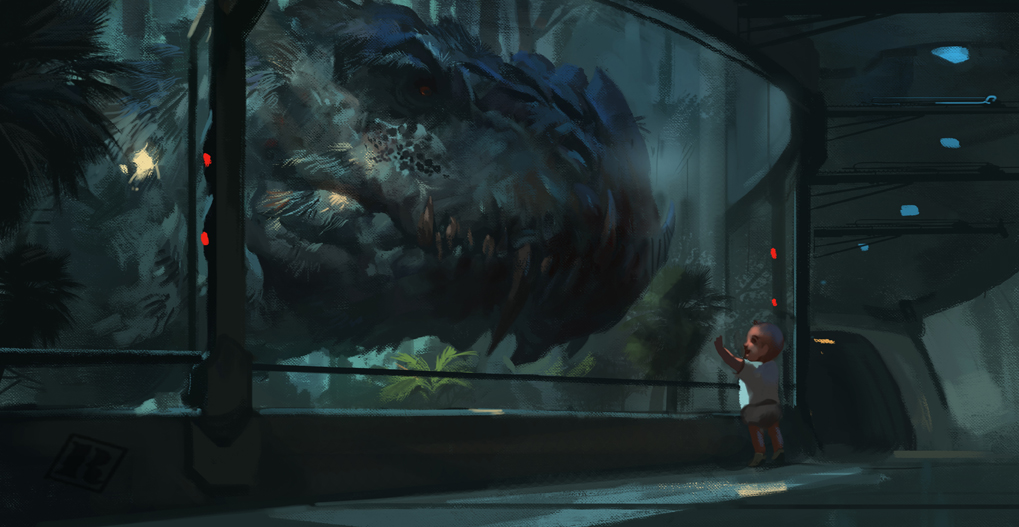 Dino Hybrid  pt 2 - Belial by Raph04art