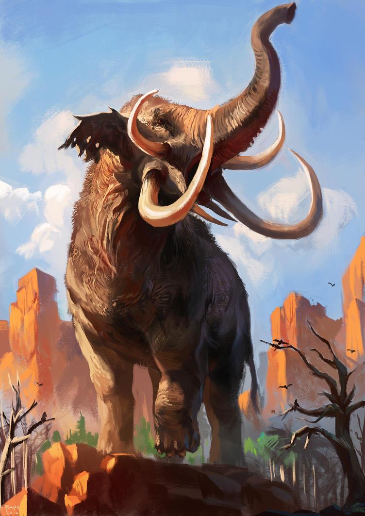 Behemoth (work in progress) by Raph04art