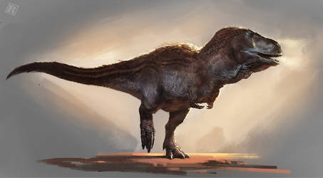 Tyrannosaurus bataar by RAPHTOR