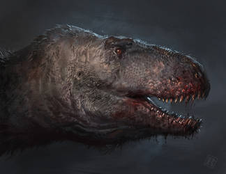 Daspletosaurus Horneri head by RAPHTOR