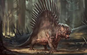 Dimetrodon by RAPHTOR