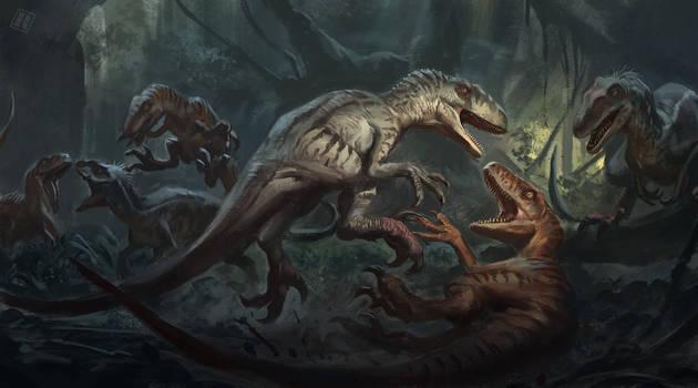 Site B: Raptor tribal conflict