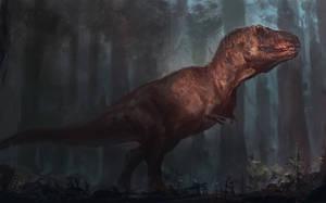 Tyrannosaur speedpaint 2018 by RAPHTOR