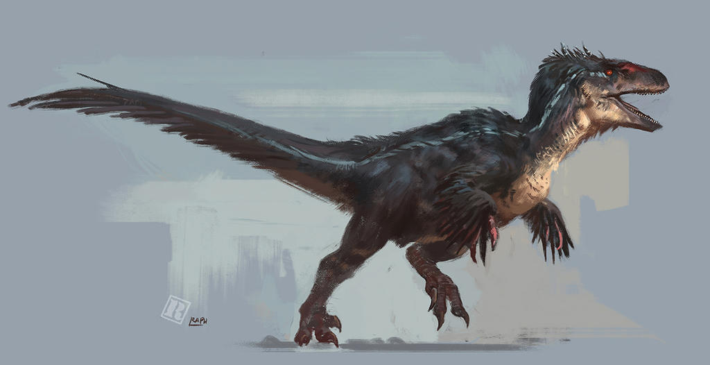 Jurassic Park 3 feathered raptor by RAPHTOR on DeviantArt