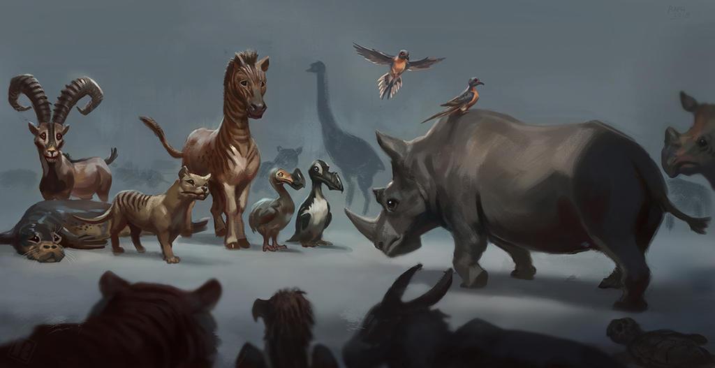 Extinction queue by RAPHTOR