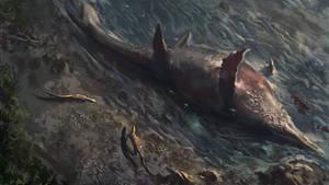 Giant Ichthyosaur