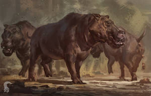 Archaeotherium B by RAPHTOR