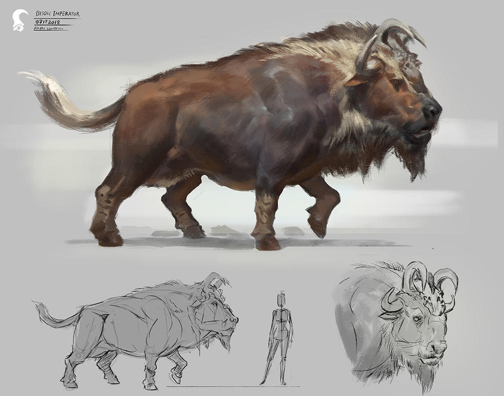 King bison by RAPHTOR