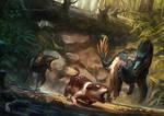 Saurian art - Acheroraptor