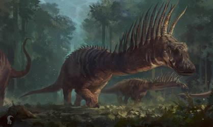 Bajadasaurus by RAPHTOR