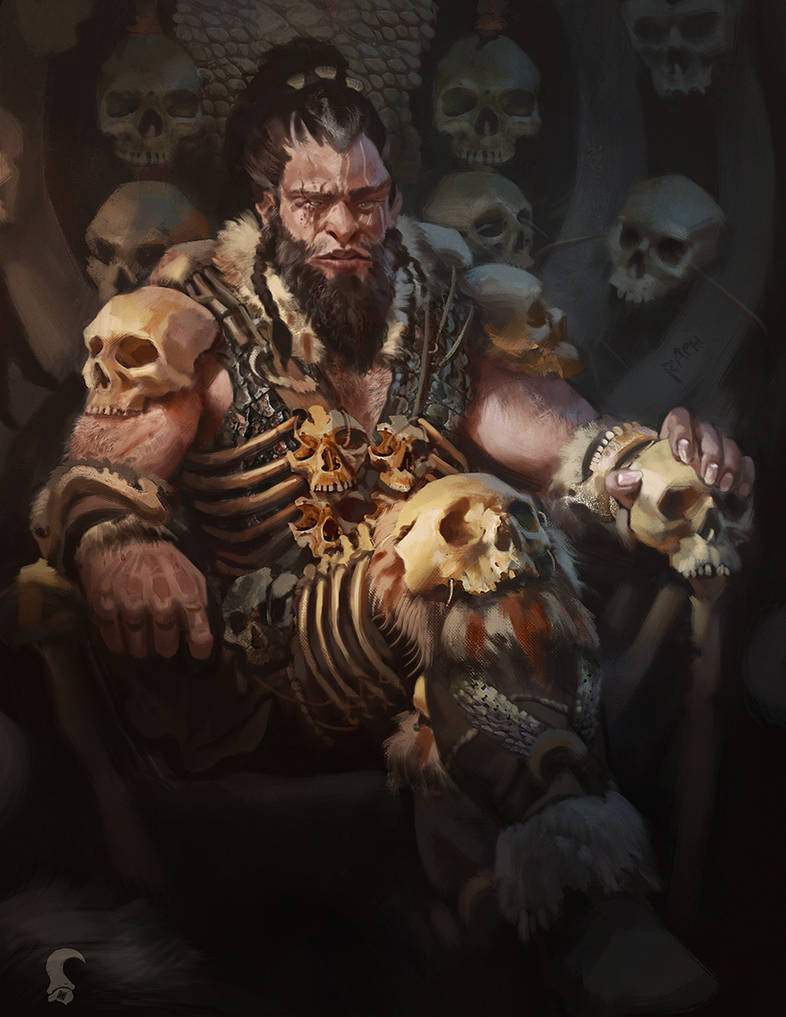 Skull collector by RAPHTOR