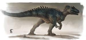 Allosaurus 'Big Rock'