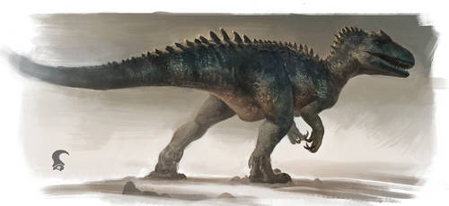 Allosaurus 'Big Rock'