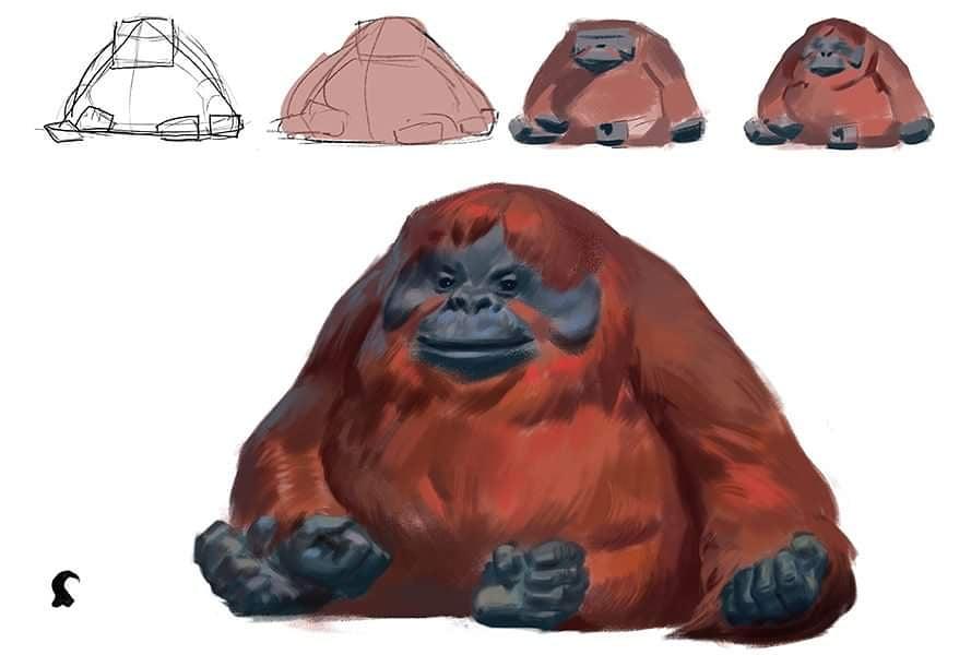 Happy the Orangutan