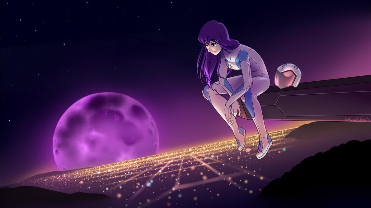 Lamentations of a Purple Haze by AxlRosie