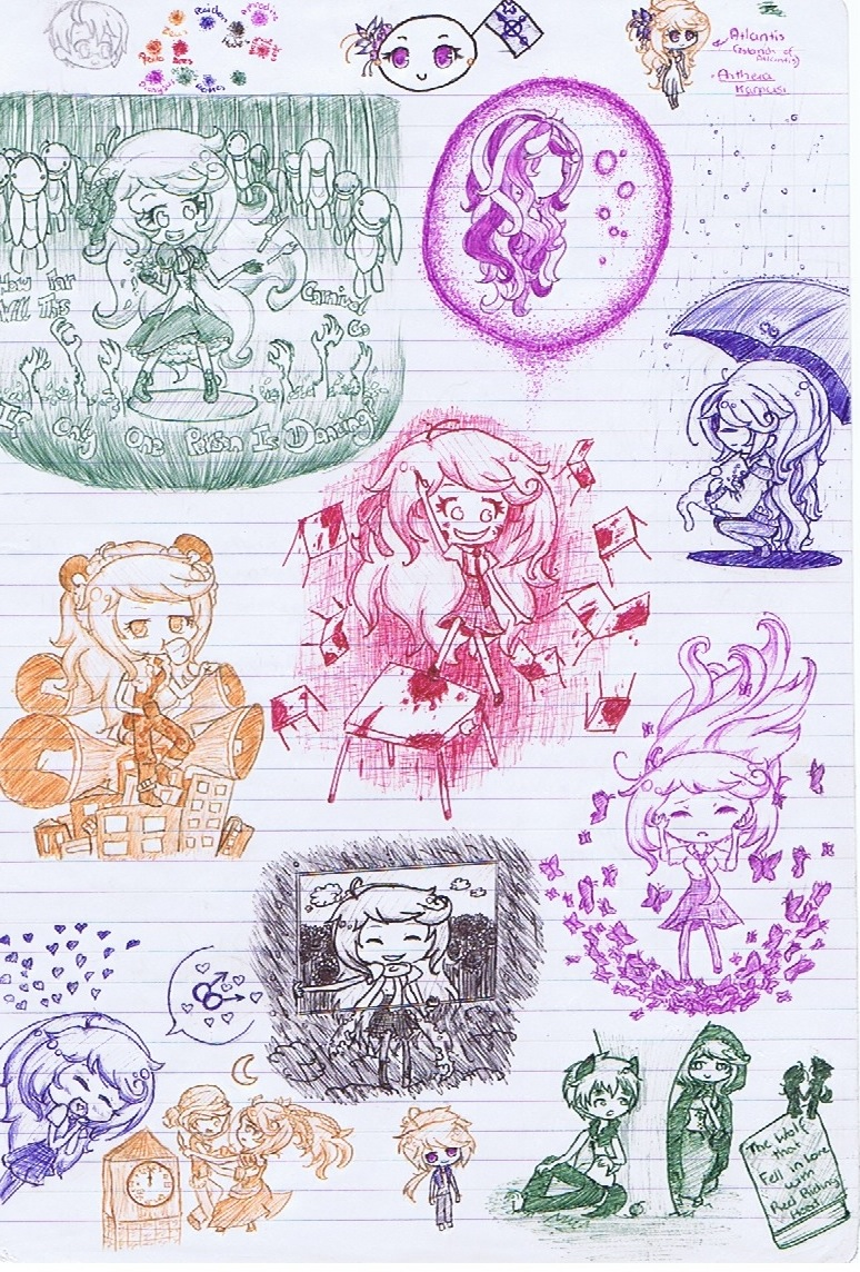 Class sketches pt 2 by island of atlantis
