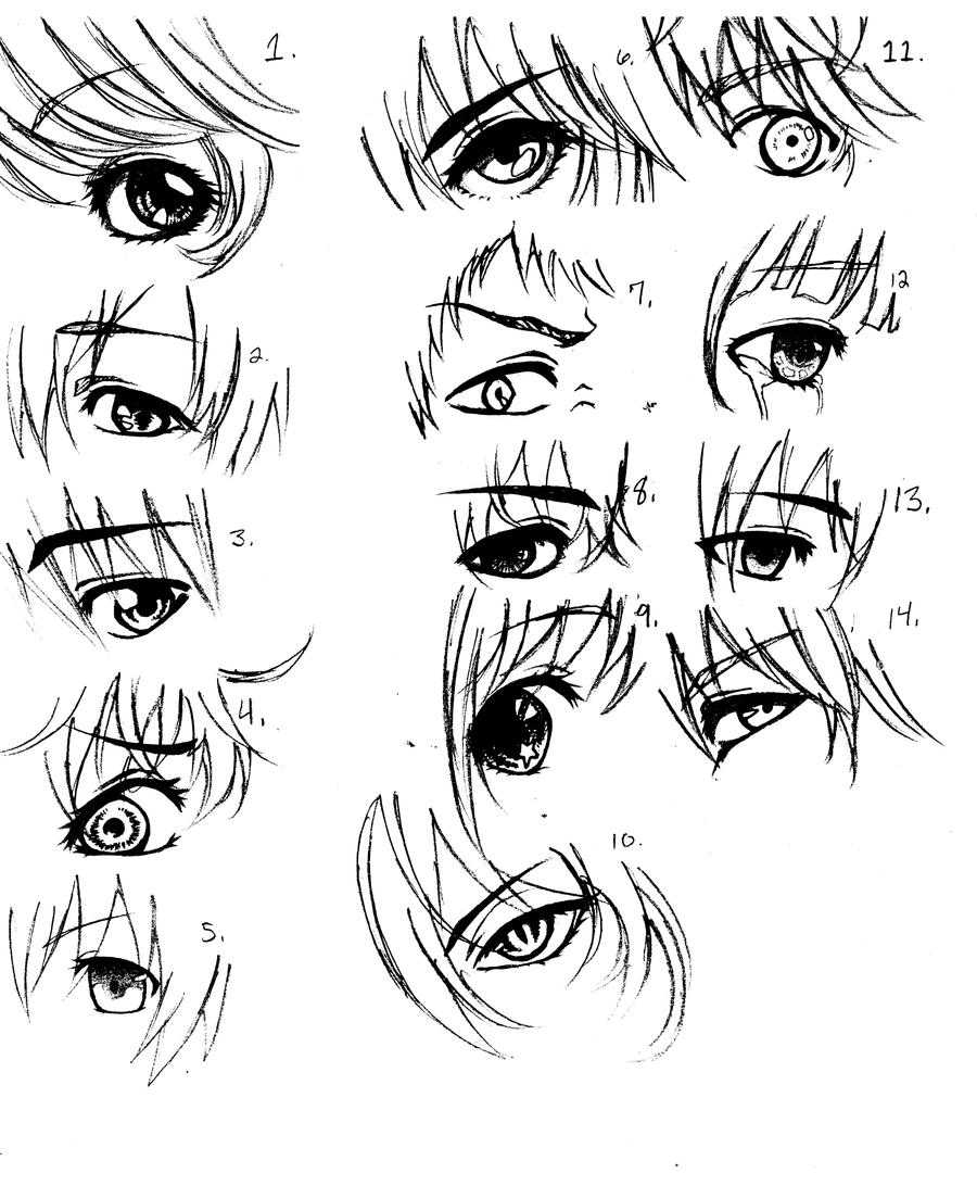 Anime Eyes By FunaTaizuki14 On DeviantArt