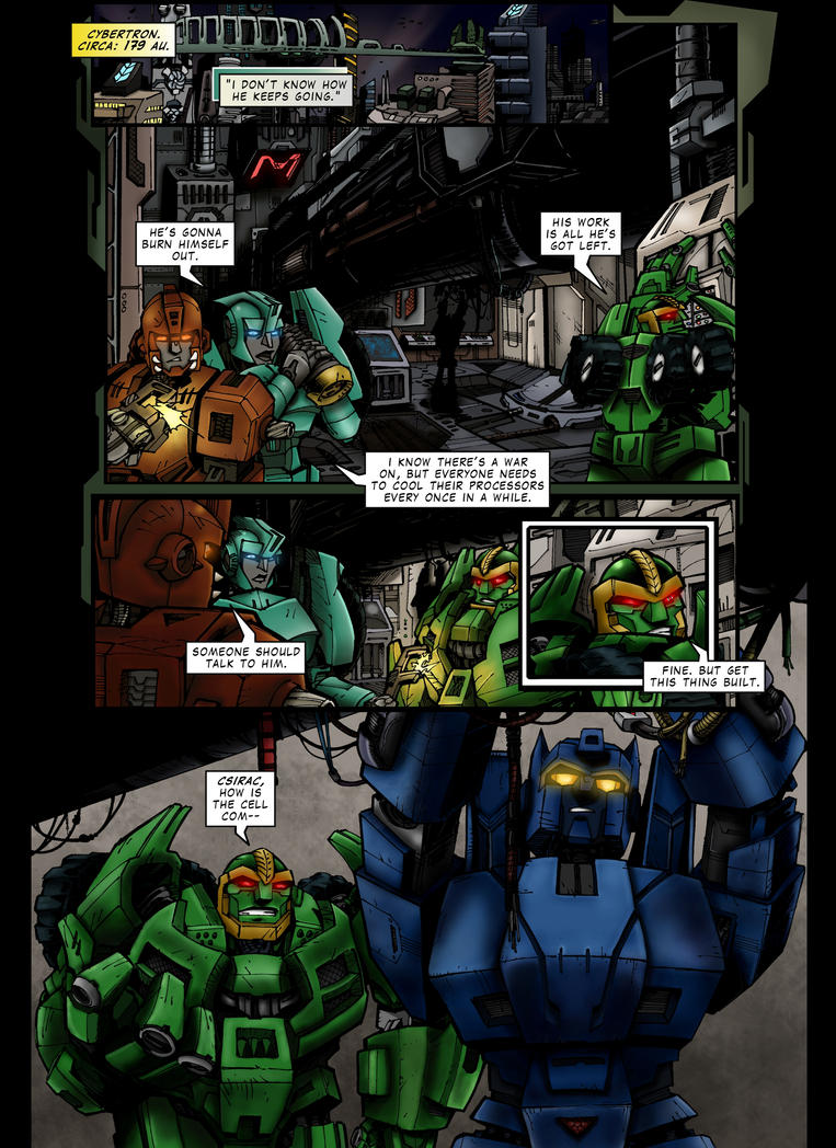 Csirac - Issue #1 - Page 5 by TF-TVC