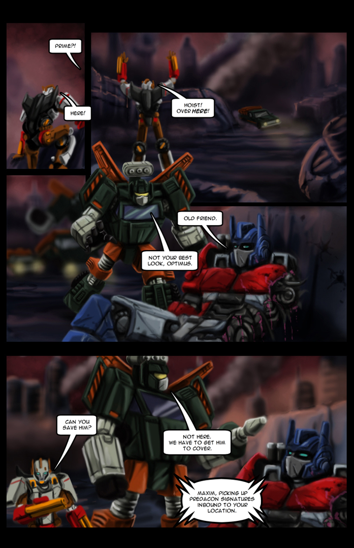 Maxim - Issue #1 - Page 6 by TF-TVC