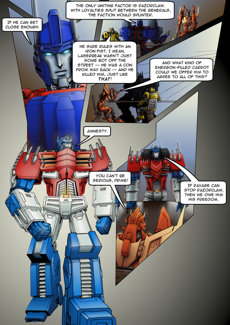 Ravage - Issue #1 - Page 17 by TF-TVC