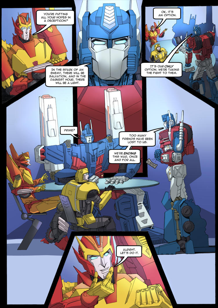 Ravage - Issue #1 - Page 18 by TF-TVC