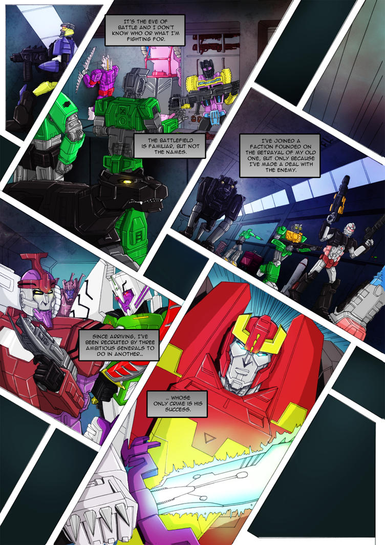 Ravage - Issue #1 - Page 19 by TF-TVC