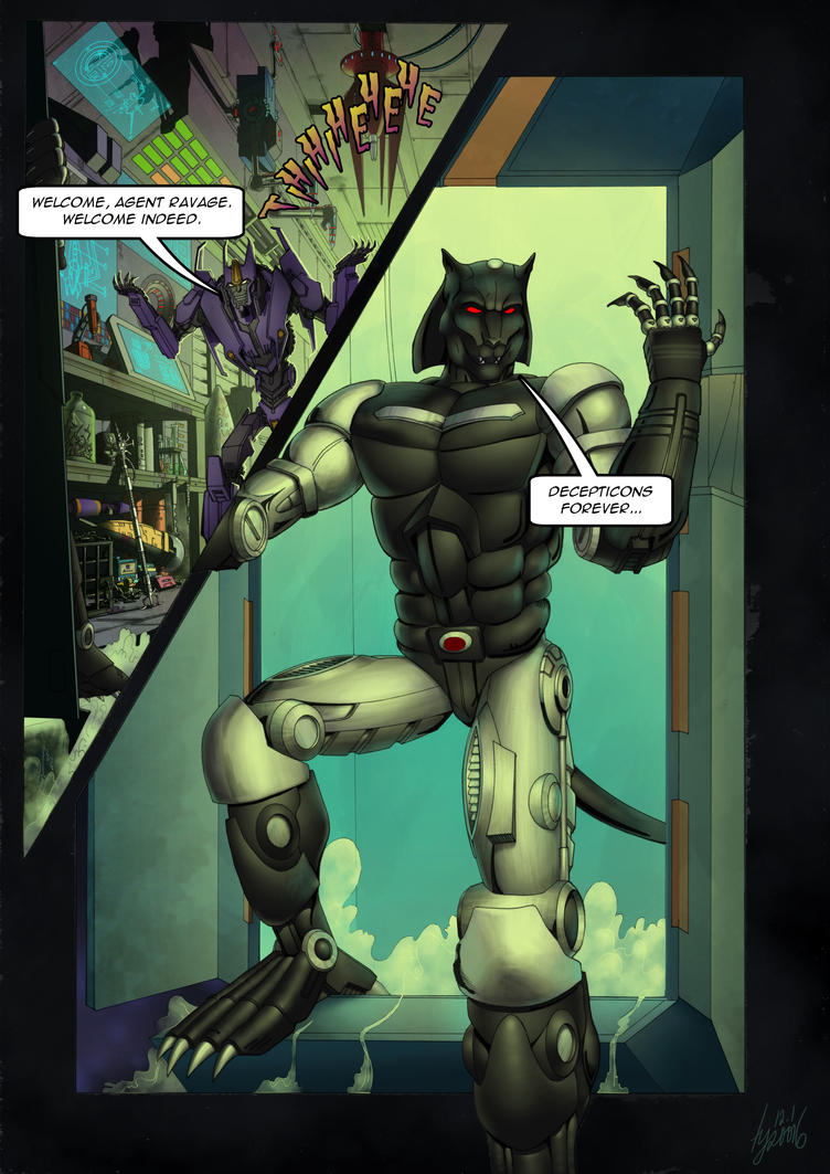 Ravage - Issue #1 - Page 32 by TF-TVC