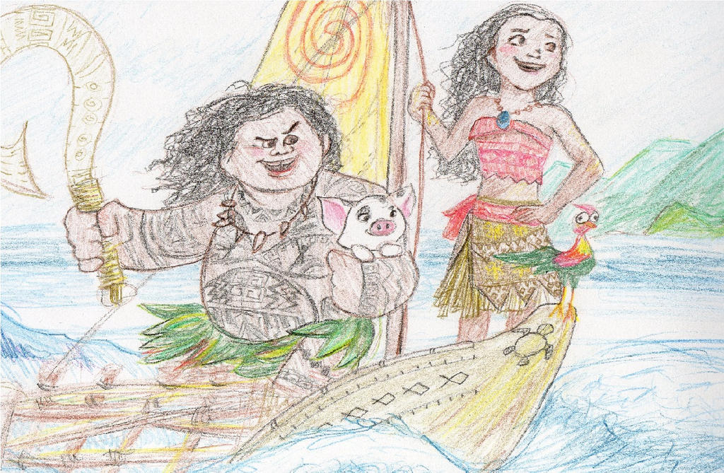 I Am Moana by Sakurawish