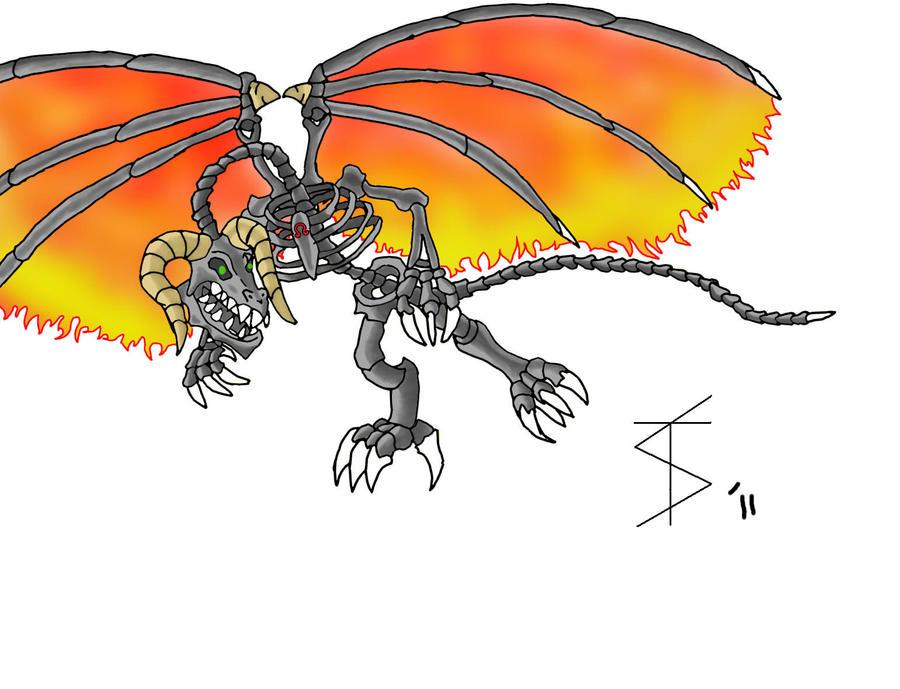 RZ Bone Dragon Remastered by ReaperZero7