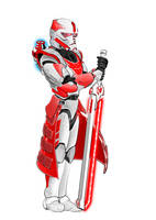 clone sbd destroyer 'RED' by Stygium