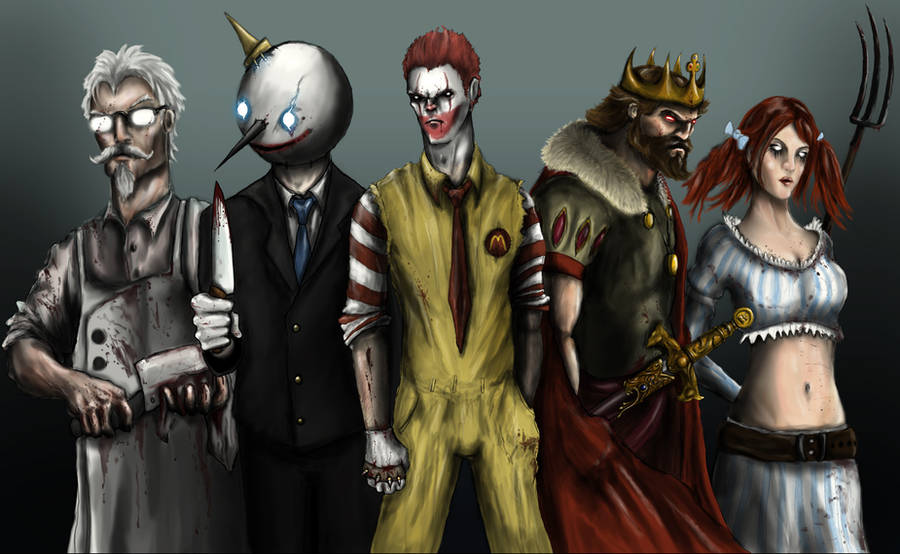 Fast Food Killers by pxpxp